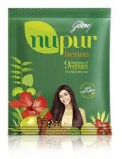 Godrej Nupur Henna for hair - 100% Natural henna powder with 9 Essential herbs