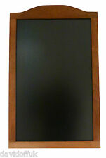 WOODEN MENU BOARD,SIGN,CHALK BOARD, PUB, RESTAURANT BLACKBOARD ENGRAVING