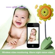 Wireless IP Camera Baby Care Monitor Security WIFI Night Vision Audio Video