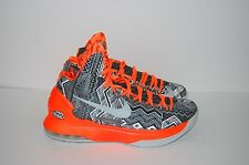 Nike 583107-001 Men's  KD 5 BHM  Black History Month Grey Black Orange  2013
