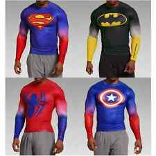 Under Armour Alter Ego Compression Shirt Long Sleeve Super Hero