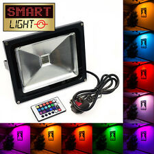SmartLight™ Outdoor Garden/Tree RGB LED Colour Changing Floodlight Flood Light