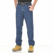 Member's Mark Relaxed Fit Medium Wash Blue Work Casual Jeans Comfortable Durable