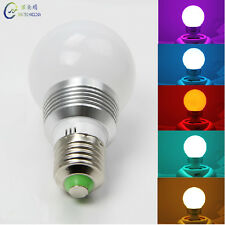 E26 E27 Magic Lighting LED Light Bulb Remote With 16 Different Colors 5 Modes