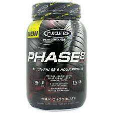 Phase 8 Performance Series, MuscleTech 2 Lb, protein powder blend, whey phase8