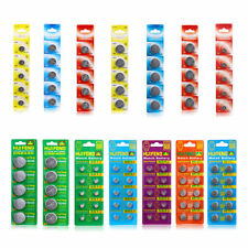 Wholesale Button Coin Cell Battery 5/10/20/50/100 PCS AG1 AG4 AG10 AG13 CR2032