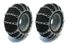 23x8.50-12 TIRE CHAINS 2 Link  John Deere 100 200 300 Series Lawn Mower Tractor