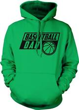 Basketball Dad Rec Sports Coach LeBron Cheering Section Hero New Hoodie Pullover