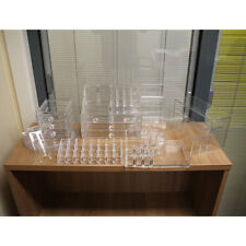 Quality Makeup Cosmetic Clear Acrylic Organiser Organizer Drawers Display Case