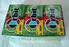 12/14(168ps) Box Orbit Apple Remix Sugar Free Chewing Gum Candy,Wrigley,NEW