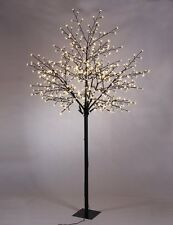 LED Cherry Blossom Tree Light Flower Holiday Party Outdoor Indoor Patio Yard 8ft