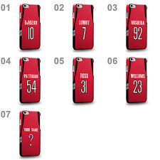 Personalised Customized Toronto Red Swingman Road Jersey Hard Phone Case Cover