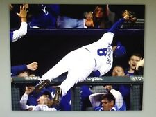 Kansas City Royals MIKE MOUSTAKAS 2014 ALCS Game 3 Action Photo