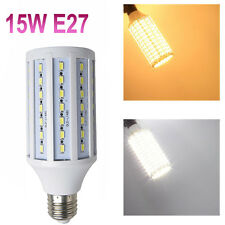 5630 84 SMD LED Corn Bulb CREE Epistar E27 15W Power lamp 1200lm VS 80W halogen