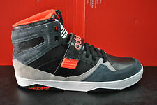 ADIDAS SPACE DIVER 2.0 HI HIGH TOP MENS SPORTS TRAINERS BLACK GREY RED M19913
