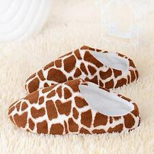 Women Men Home Anti-slip Shoes Soft Warm Cotton Sandal House Indoor Slippers M64