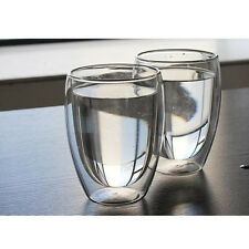 Double Wall Heat Resistant Glass Cup Beer Milk Juice Cup Mug Drinking Glasses