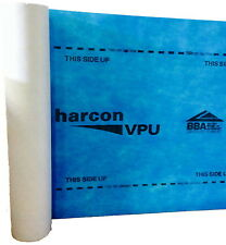Harcon 1.5m x 50m Breathable Roofing Underlay Pitched Roof Felt  BS5534-2014