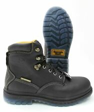 GEORGIA BOOT STEEL TOE PUNCTURE-RESISTANT WATERPROOF WORK BOOT BLACK LEATHER 056
