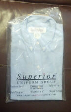 Short Sleeve Blue Oxford Shirt NEW IN ORIGINAL PACKAGING - FREE SHIPPING