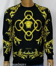 NEW WT MEN'S VERSACE LONG SLEEVE T-SHIRT MEDUSA SWEATSHIRT