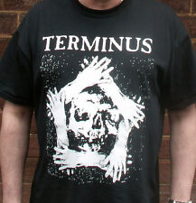 Terminus: 'Skull & Hands' Logo/T-Shirt (1980's-90's UK Anarcho-Punk)