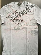 NEW NWT Mens GUESS T Shirt Cadiz Print Crew Tee Size S M L XL Gray Grey