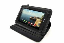 Universal Folio Rotating Case Stand Cover for Verizon Ellipsis 7 Inch RCA Tablet