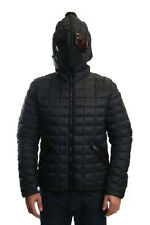AI Riders On The Storm Goggle Hooded Duck Down Quilted Jacket In Black RRP £340