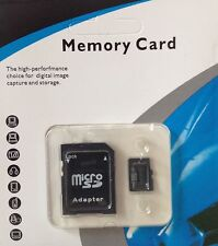 64GB MAX - MICRO SD TF SDHC MEMORY CARD CLASS 10 GENERIC BLACK WITH FREE ADAPTER