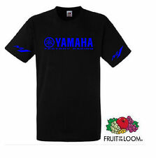 YAMAHA FACTORY RACING MOTORCYCLE MOTORBIKE T SHIRT BRAND NEW CUSTOM PRIN  S-XXXL