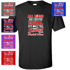 LUCKIEST BASEBALL MOM MOTHER GIFT MOTHERS DAY UNIFORM JERSEY FUNNY MENS T-SHIRT