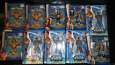 WWE MATTEL ELITE FIGURES, NEW   HALL OF FAME  USA Exclusive's
