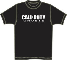 GAME ICONZ CALL OF DUTY BLACK OPS GHOSTS TEE SHIRT COD PS3 XBOX PS4 GAMER TAG