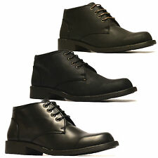 Mens New Casual Style Smart Retro Mod Chukka Lace Dessert Ankle Boots Shoes Size