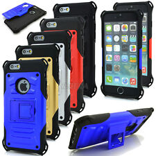 Armor Rugged High Impact Hybrid Shockproof KickStand Case For iPhone 6 6S Plus