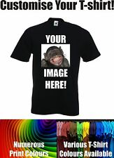 Your Image / Photo Here - Custom T Shirt Printing Personalised Stag Hen