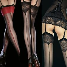 Sexy Sheer Garter Stockings Nylons Back Seam 1romancestreet 5 patterns S M L
