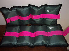 Bally Total Fitness Leg weights-fitness-jogging-workout-arm-aerobics-ankle-wrist
