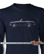 Austin Healey Sprite MKII MKIII Long Sleeves T-Shirt - Multiple Colors and Sizes