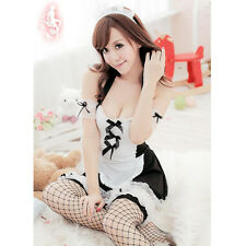 Sexy Girl's Maid Lolita Uniform Halloween Costume Halloween Dress Cosplay Outfit