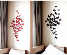 12 pcs 3D Wall Sticker Stickers Beauty Butterfly Home Decor DIY Room Decoration