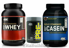 Gold Standard Whey Casein Combo with Platinum Pre FP, Optimum Nutrition, Protein