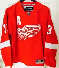 PAVEL DATSYUK DETROIT RED WINGS MEN REEBOK PREMIER HOCKEY JERSEY PRO CUSTOMIZED