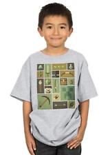 Minecraft Youth T-Shirt  - Explorer - Official Merchandise Xbox, Playstation