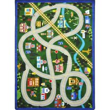 My Community Helpers Area Rug for Children by Joy Carpets Kid Essentials