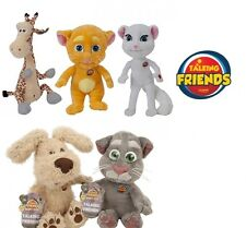 TALKING FRIENDS Soft Toy with Sounds from App | Ben Tom Ginger Angela Gina Plush