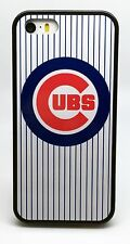 NEW CHICAGO CUBS MLB BASEBALL PHONE CASE FOR iPHONE 6S 6 PLUS 5C 5 5S 4S COVER