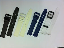 Replacement Watch Strap compatible with  SWATCH SKIN -  Resin Ultra Thin