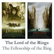Lord of the Rings Fellowship of the Ring Movie Poster A1 A2 A3 Satin Gloss
